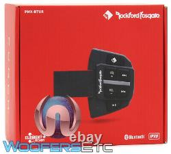 Rockford Fosgate Pmx-btur Boat Marine Car Atv Steering Wheel Control Bluetooth