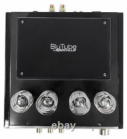 Rockville BluTube Tube Amplifier/Home Theater Bluetooth Receiver+(4) 4 Speakers