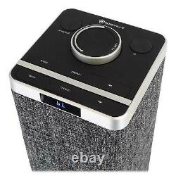 Rockville ONE-TOWER All-In-One Tower Bluetooth Speaker System+HDMI/Optical/RCA