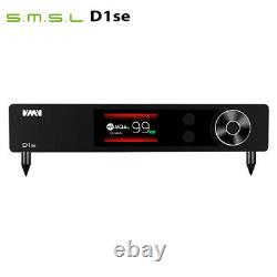 SMSL VMV D1se MQA ES9038PRO DSD512 768kHz/32bit DAC Decoder With Remote Control