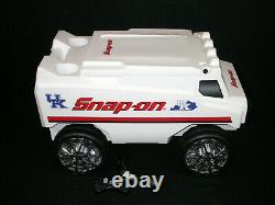 SNAP-ON TOOLS C3 REMOTE CONTROL DELIVERY TRUCK COOLER With BLUETOOTH SPEAKERS NICE