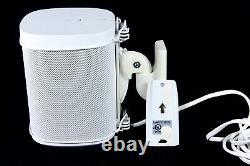 SONOS One WHITE Smart Speaker GEN 2 Voice Control A100 Wall Mount Remote No Box