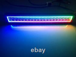 Sanduo 13-52inch CREE LED RGB Chasing Flow Halo Ring Light Bar Bluetooth Remote