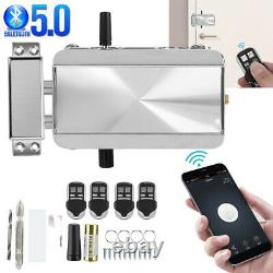 Smart Electronic Door Lock System Kit Keyless Bluetooth5.0 With Remote Control