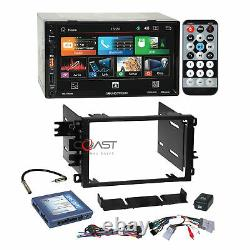 Soundstream 7 Android Phonelink Stereo Dash Kit Bose Amp Harness for GM Chevy