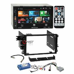 Soundstream 7 LCD Phonelink Stereo Dash Kit Amp Steering Harness for GM Chevy