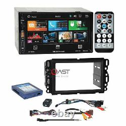 Soundstream 7 LCD Phonelink Stereo Dash Kit Bose Harness for GM Chevy Pontiac