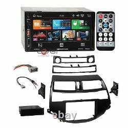 Soundstream 7 USB Bluetooth Stereo Blk Dash Kit Harness for 08-12 Honda Accord