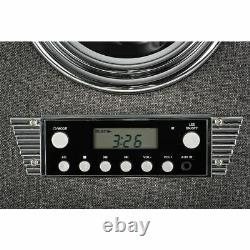 Tabletop Bluetooth CD Player Jukebox With Fm Radio, AUX Input and Remote Control