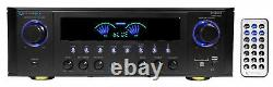Technical Pro RX45BT Home Theater Receiver Bluetooth USB+Dual 15 Band Equalizer