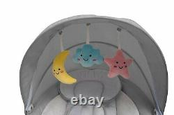 The Nova Baby Swing by Jool Baby Bluetooth Enabled, Remote Control, 5 Swing