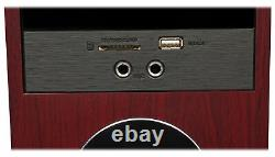Tower Speaker Home Theater System+8 Sub For Samsung MU6290 Television TV-Wood