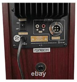 Tower Speaker Home Theater System withSub For Samsung NU7100 Television TV-Wood