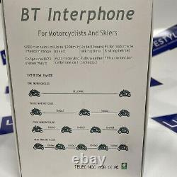 VNETPHONE V8 Bluetooth Motorcycle Intercom BT Interphone with Remote Controller