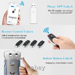 Wafu 019 Electric Bluetooth Door Lock With Remote Control/Touch Invisible Smart