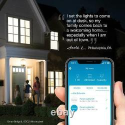 Wireless Smart Lighting Dimmer Switch And Remote Kit For Wall And Ceiling Lights