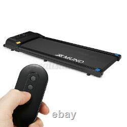XMUND Electric Treadmill Portable bluetooth Running Machine Remote Control Gym