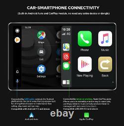 10.1 Ultra Mince Bluetooth 1din Tête Gps + Contrôleur À Distance De Volant