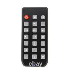 2000w Bluetooth Hifi Stereo Amplificateur 2ch Tuner Remote Control Usb Sd MIC