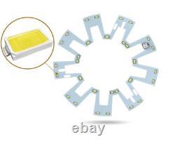42 Ventilateurs De Plafond Rétractables Bluetooth Led Chandelier Remote Control Audioplayer