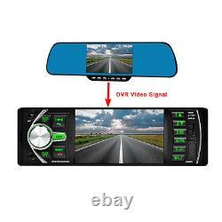 4.1 Hd 1din Voiture Stereo Vidéo Mp3 Lecteur Mp5 Bluetooth Fm Radio Aux Usb Et Caméra