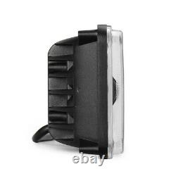 4x 6 Bluetooth Télécommande Phares Led Lampe Rgb Cree H4 Drl Avec Projecteur