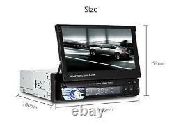 7.0 LCD Touch Écran Mp5 Voiture Multimedia Lecteur Bluetooth Wince + Télécommande