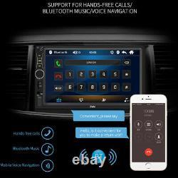 7 60w Bluetooth Auto Radio Audio Vidéo Mp5 Lecteur Aux/usb/u Disk Remote Control
