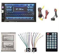 7 Pouces Bluetooth Audio Dans Dash Touch Screen Car Radio + Télécommande & Caméra