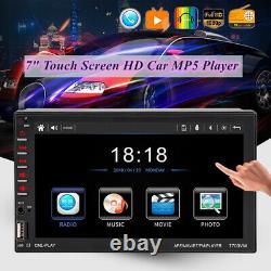 7 Voiture Bluetooth Touch Screen Car Mp5 Player Remote Control Pour Ios Et Android