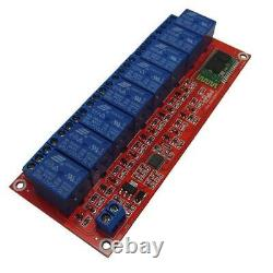 8 Ch12v Relay Board Module Bluetooth Mobile Phone Remote Control Arduino L149