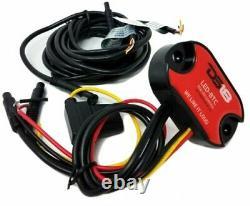 8x Universal Rgb Speaker Light Rings 8 Led Bluetooth Remote Control Ds18