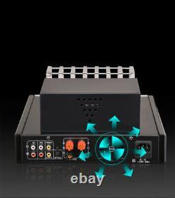 Ampli À Lampes 4.0 Amplificateur De Tube Bluetooth 2.1 Hifi 100w 100w +télécommande