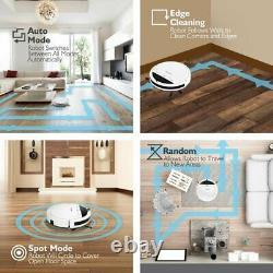 Aspirateur Robot Intelligent Avec Navigation À Télécommande, Nettoyage De Vadrouille Et De Balayage