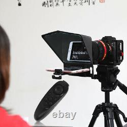 Besview T2 Live Video Teleprompter For Phone Tablet Pc Slr Camera Teleprompter