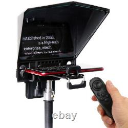 Besview T2 Portable Live Broadcast Teleprompter For Phone Camera Tablet Vidéo Sh