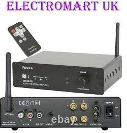 Bluetooth Digital Stereo Amp Amplificateur 170w Remote Control Line Input Output Sub