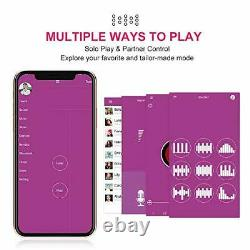 Bluetooth Remote Control Bullet Vibrator Powerful Pink Smart Phone App Control