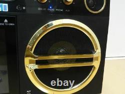 Boom Box Cinquante Haut-parleur Bluetooth Ds -999 Avec Télécommande Rockbeats