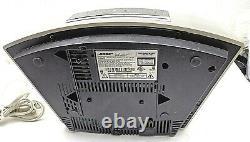 Bose Wave Radio CD Player Awrcc-2 Avec Ic-1 Control Bar Sounds Great No Remote