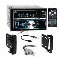 Boss CD Usb Mp3 Bluetooth Stereo Dash Kit Harnais Pour 07-14 Chrysler Dodge Jeep