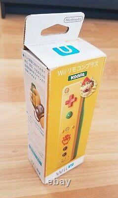 Bowser Themed Nintendo Wii Remote Motion Plus Controller Nouveau Dans La Boîte
