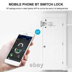 Bt Smart Door Lock Keyless App Bluetooth Télécommande Home Apartment Security