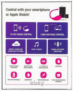 Bullet Vibrateur Bluetooth Télécommande Quiet Smart Phone Partner Controlé