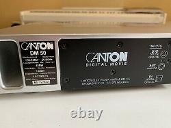 Canton DM 50 Haut-parleur Soundbar Avec Télécommande