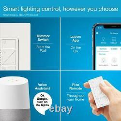 Commutateur De Gradateur D'éclairage Intelligent Sans Fil Et Kit À Distance Pour Les Lumières De Mur Et De Plafond