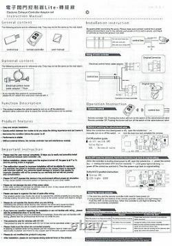 Contrôleur De Silencieux D'échappement Électronique Bluetooth 4.0 Télécommande Pour Bmw