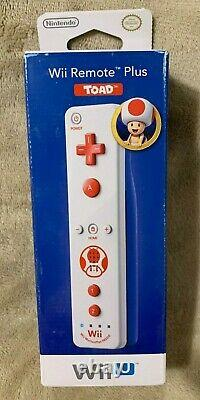 Crapaud De Contrôleur Nintendo Wii/wii U Remote Plus Version Nord-américaine