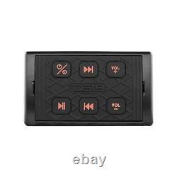 Ds18 Hydro Btrc-sq Universal Marine Récepteur Audio Bluetooth Avec Contrôleur
