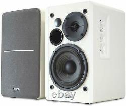 Edifier R1280t Active Bookshelf Speaker System With Remote Control (blanc)